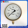 All Stainless Steel Safety Pressure Manometers Accuracy 1.0%