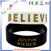 Custom 1 Inch Silicone Rubber Wrist Band for Gifts