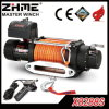 Synthetic Rope Electric Winch with 8288lbs Pulling Capacity for Race Competition