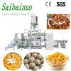 Kelloggs Corn Flakes Making Machinery Twin Screw Food Extruder