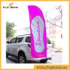3.4m Event Promotion Aluminium Portable Beach Flag/Flying Flag