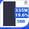 Black Canadian CSA 5bb 72 Cells 335W Poly Solar Electric Tricycle Panel for Industry/Home with China Top Supplier in Nigeria