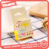 China Supplier Decoration Colorful Waterproof Adhesive Stationery Washi Tape