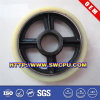 Flat Belt Rubber Coated Sliding Pulley Wheel Bearing with Steel Core