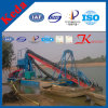Africa Hot Sale Bucket Chain Alluvial Gold Dredger in Mali (50-300m3/h)