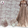 Latest Design Expensive Sequin Mesh Net Lace Fabric for Wedding Evening Dress