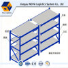 Q235B Steel Long Span Shelving Rack with Steel Panel