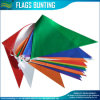 PE Material Pure Color Triangle Bunting Flag (B-NF11P02009)