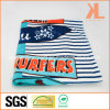 Home Hotel Textile 100% Cotton Stripe Blue Print Beachtowel