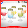 Wholesale Cheap Colorful 10oz Glass Mason Jar with Handle