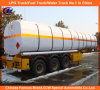 3 Axle 45000liters Carbon Steel Oil Tanker Semi-Trailer