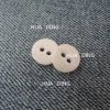 2-Hole Fashion White Plastic Sewing Button for Garment (HD2014-16)