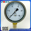 Stainless Steel Case Brass Internal Bottom Connection Capsule Pressure Gauge