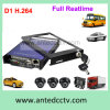 4 Channel Taxi CCTV Security Monitoring System with GPS Tracking
