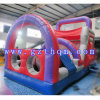 Fun City with Bounce House and Inflatable Obstacle Course for Child
