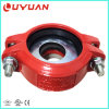 Epoxy Ral-3000 Red Recucer Coupling with FM UL Certificate