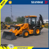 4*4 Wheeled Tractor Type Backhoe Loader with Cummins Engine