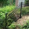 Ornamental Steel/Iron Rackable Adjustable Fence for Slope and Hill Fence