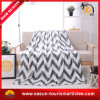 100% Polyester Custom Printed Flannel Fleece Blanket for Promotion