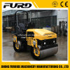 3 Ton Double Drum Roller Soil Compactor with Diesel Engine