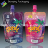 Printed Colourful Design Free-Standing Pouch Spout (DQ0174)