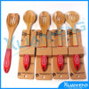 Natural Bamboo 5 Piece Kitchen Utensil Cooking Set