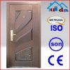 Soncap Approved Apartment Steel Wooden Door