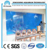 Transparent Acrylic Aquarium of Luxury Restaurant Project