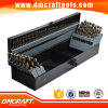 "115 PCS M35 Drill Bit Set Number Letter 1/16"" to 1/2"""