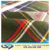 21s 100% Cotton Flannel Fabric, Yarn Dyed Flannel Shirting Fabric, Tartan Check Fabric