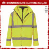 Reflective Yellow Safety Life Protective Safety Jacket (ELTSJI-9)