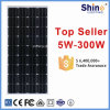 150W Cheap Price High Efficiency Monocrystalline Solar Panel for Sale in European
