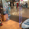Acrylic Anti Theft Shops EAS RF Security Alarm Equipment