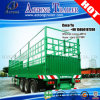 Tri Axles 50tons Cattle Transporting Livestock Semi Trailer