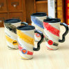 League of Legends Cup Painted Ceramic Mug 500ml Spiral Cup