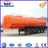 3 Axis 50000 Liters Carbon Steel Fuel Tanker Truck Semi Trailer with 4 Compartments