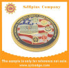 Custom Gold Plating Coin, Medal Badge, Gift, Souvenir