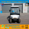 Ce Approved Mini 2 Seater Electric Utility Vehicle with Cargo Box in The Back