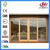Outdoor Solid Teak Wood Glass Sliding Doors (JHK-G01)