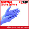 100PCS Disposable Nitrile Gloves, Latex-Free, Powder-Free Glove for Cleaning, Mechanics, Automotive, Industrial, Food Handling or Applications, Blue