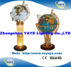 Yaye 18 Hot Sell 330mm/450mm/550mm/650mm Lighting Gemstone Globe/ Gemstone Globe/ World Globe