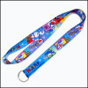 Polyester Multi-Color Dye Sublimation/Heat Transfer Logo Custom Lanyard for Sports