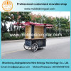 2017 Hand Pushing Mobile Truck Vending Cart for Selling Goods