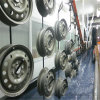 Auto Parts Wheels Electrophoresis Powder Coating Line