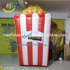 Inflatable Popcorn Model for Advertising Outdoor Display Popcorn Food Replica