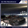 Glossy Black 4D Carbon Fiber Vinyl Wrap Sticker