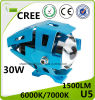 CREE U5 30W LED Motorcycle Laser Headlight