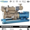100kw Water Cooling Marine Genset, Cummins Marine Engine with CCS/BV