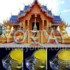 Thailand Golden Temple Construction Pigment Materials