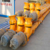 Flexible Spiral Screw Conveyor for Construction Machine